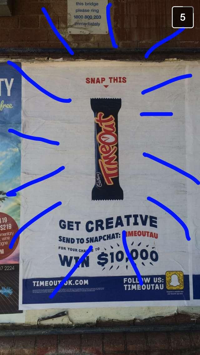 Campaña de la compañía de caramelos Mondelez.