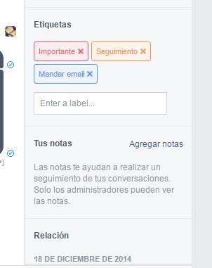 mensajes facebook