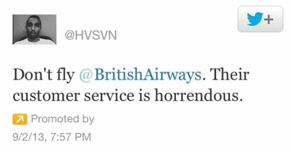 """No vuelen con British Airways. El servicio al cliente es horrible"""