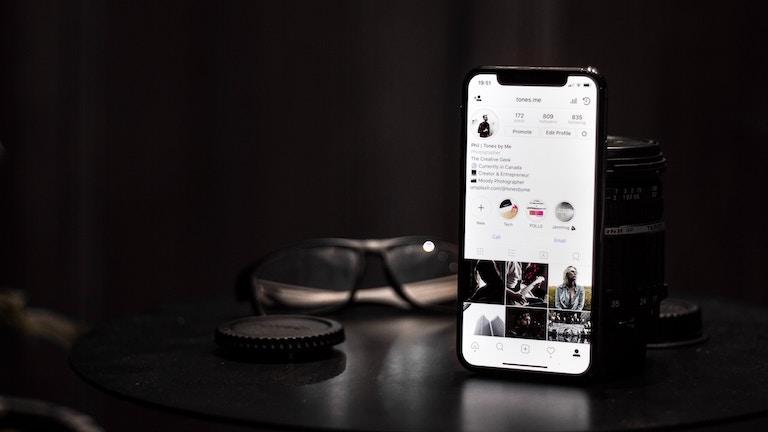 perfil de empresa en Instagram 2