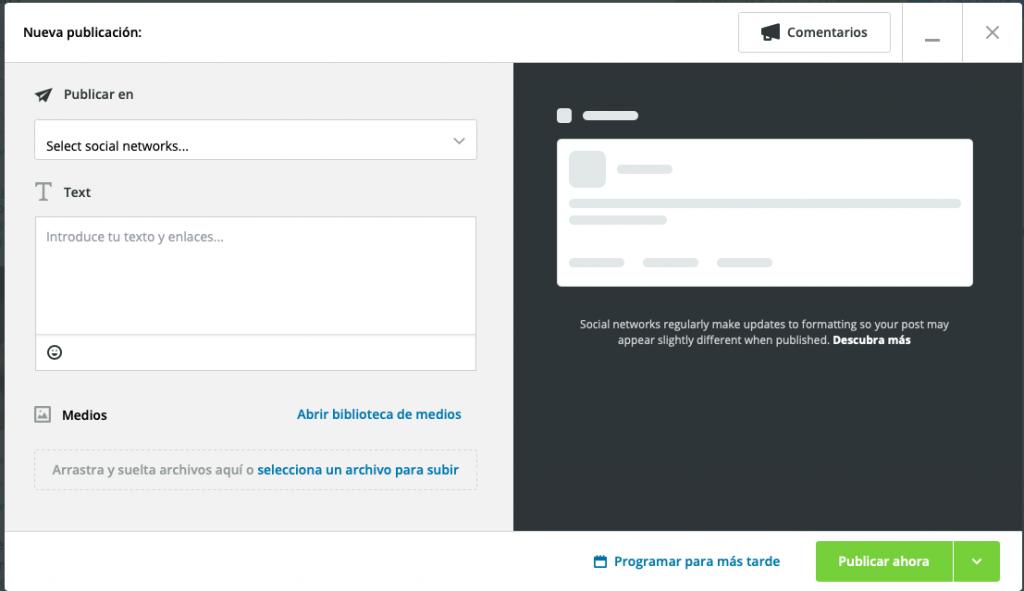 guía para usar Hootsuite 3
