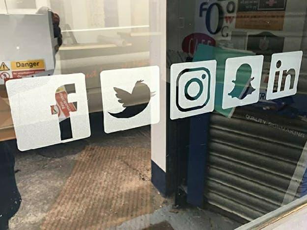 redes sociales escaparate